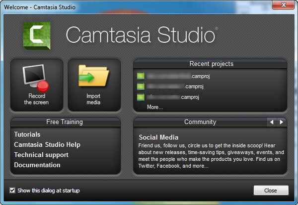 ScreenFlow για Windows - Camtasia
