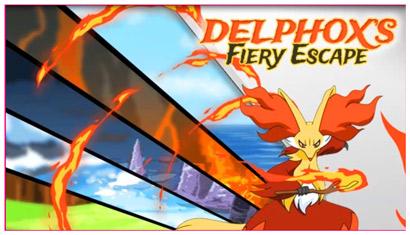 Fuga infuocata di Delphox
