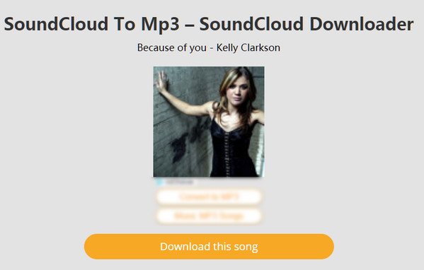 Access SoundCloud songs and playlists via URL