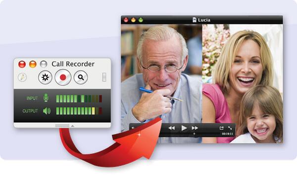 Εγγραφή κλήσης Ecamm για το Skype