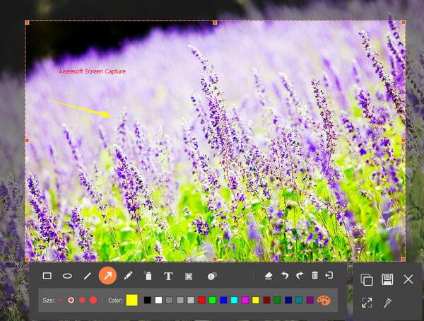 Edytuj zrzut ekranu na Toshiba