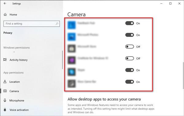 Ενεργοποιήστε τη συσκευή εγγραφής οθόνης Movavi Windows 10