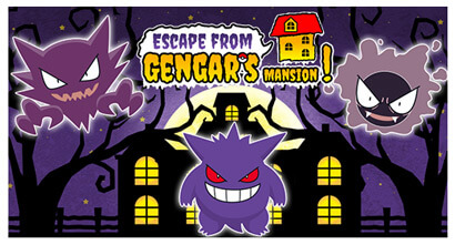 Escape from Gengar's Mansion