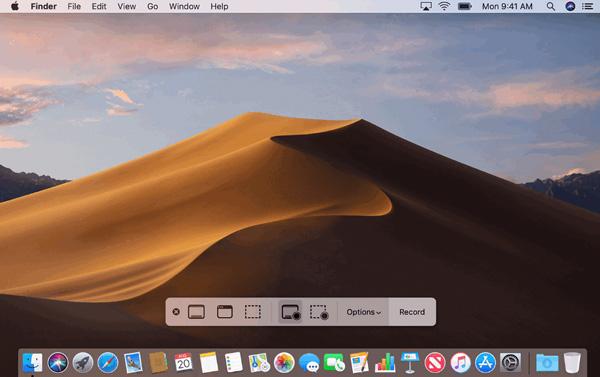 在Mac上錄製屏幕