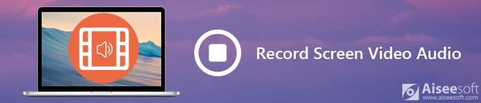 Nagrywanie ekranu Wideo / audio