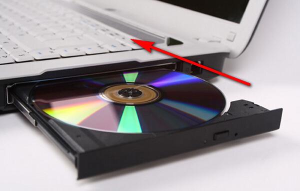 Włóż czystą płytę CD