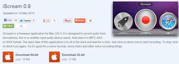 Rejestrator MP3 iScream