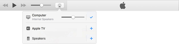 Dispositivi iTunes AirPlay