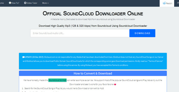 SoundCloud Converter - Download/Convert SoundCloud Songs to MP3
