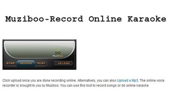 Muziboo nagrywa audio na MP3