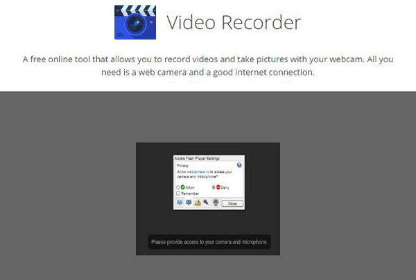 Online Video Webcam Recorder