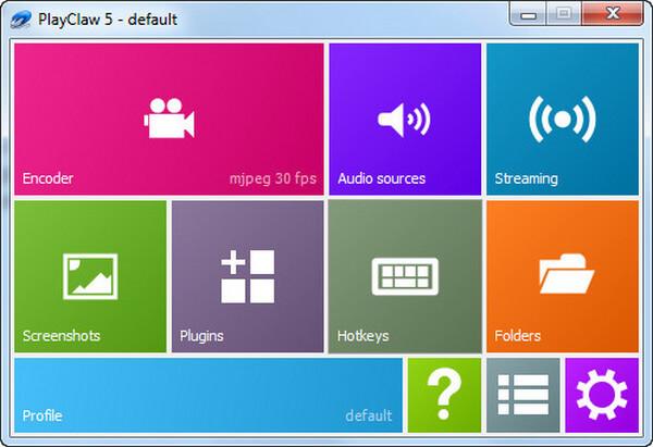 Miglior software di registrazione del gioco - PlayClaw