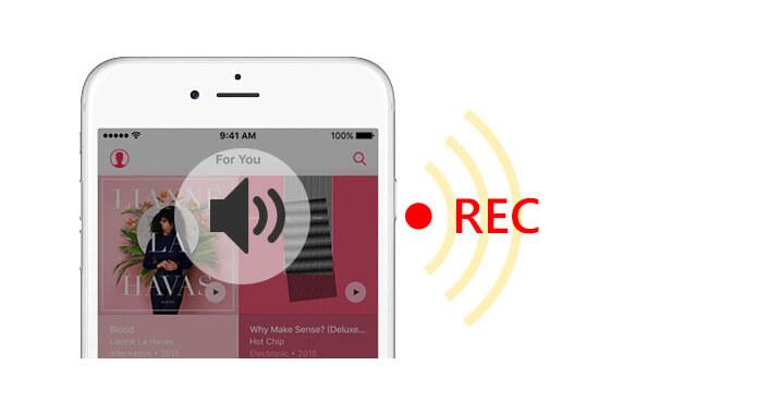 Registra audio su iPhone