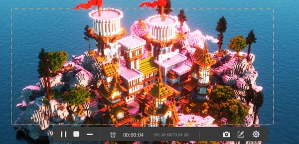 Registra video di Minecraft