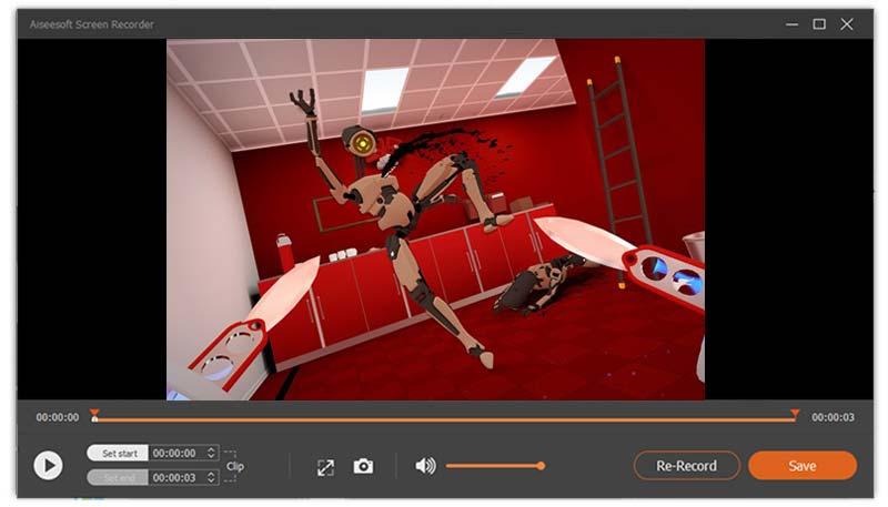Εγγραφή VR