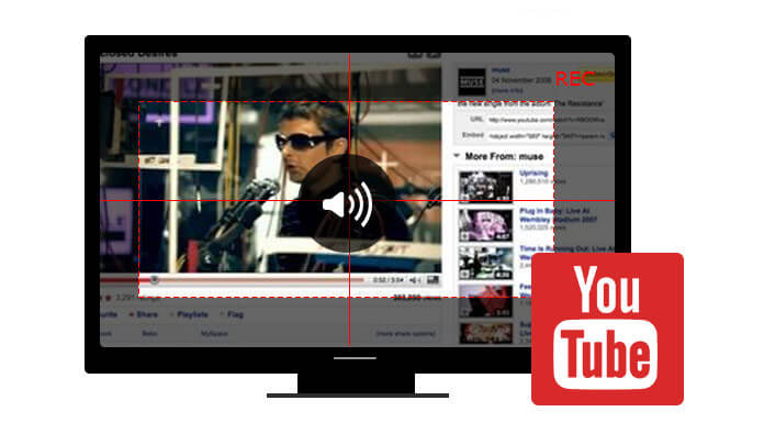 Registra l'audio di YouTube