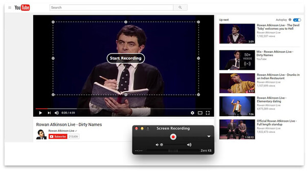 Record YouTube Videos with QuickTime