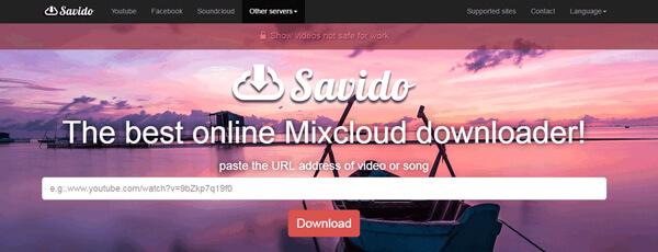 Savideo Mixcloud Downloader