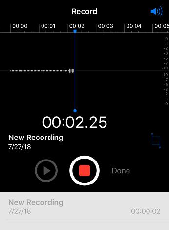 Rozpocznij nagrywanie