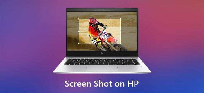 Vezměte snímek obrazovky na HP