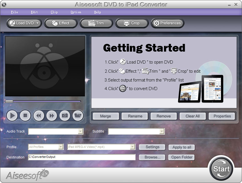 Aiseesoft DVD to iPad Converter 6.3.38