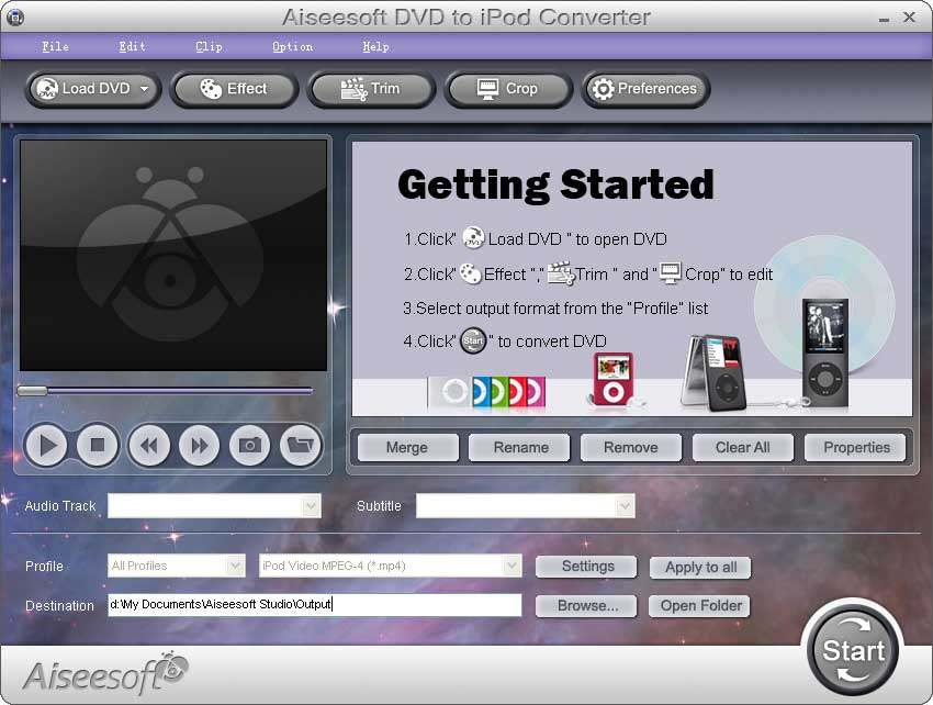 Aiseesoft DVD to iPod Converter 5.1.10