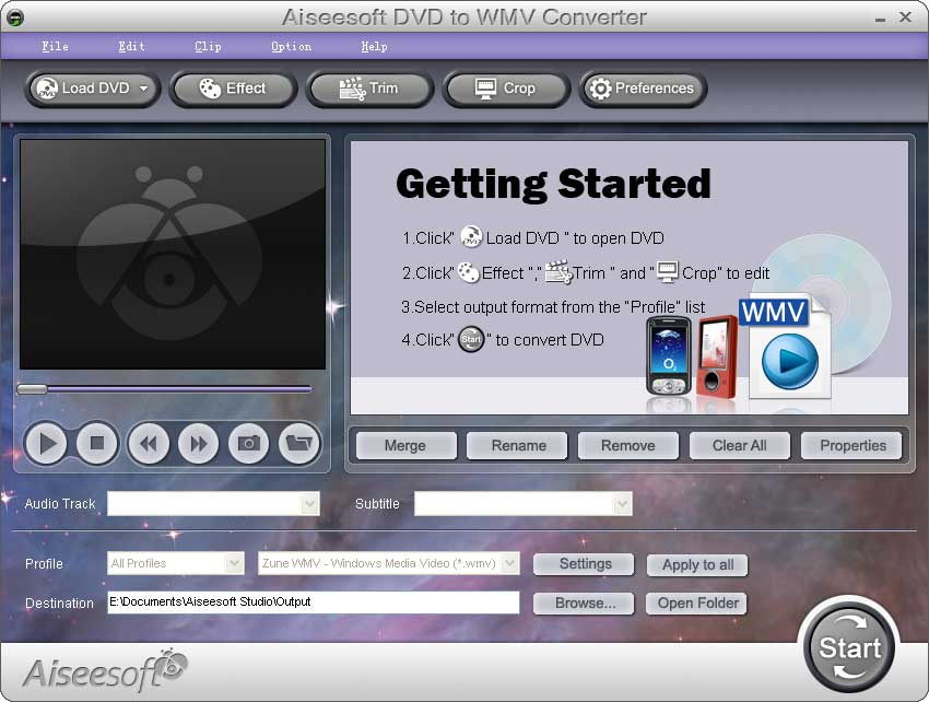 Aiseesoft DVD to WMV Converter