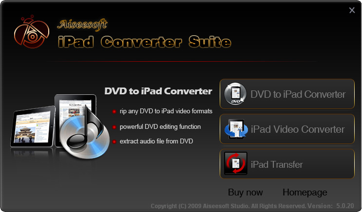 Aiseesoft iPad Converter Suite screenshots