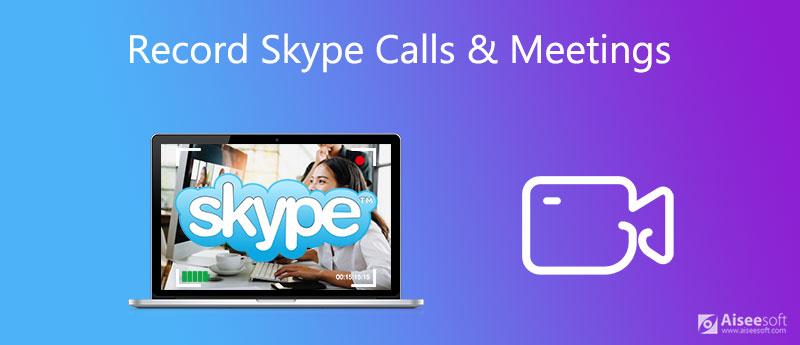 Registra una chiamata Skype