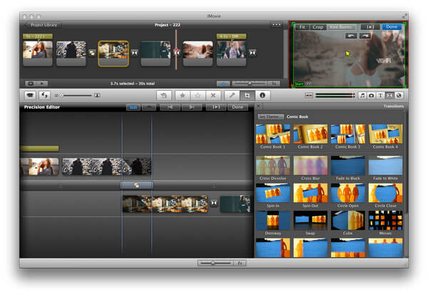 Precision Editor on iMovie
