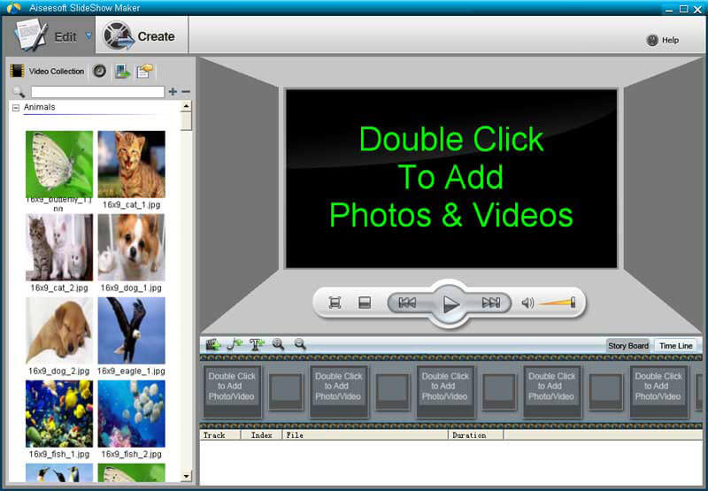 Aiseesoft slideshow maker make photo slideshow maker for 3d setup builder