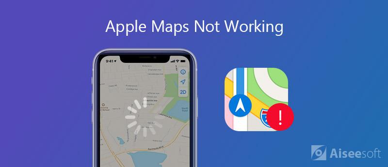 Apple Maps non funziona
