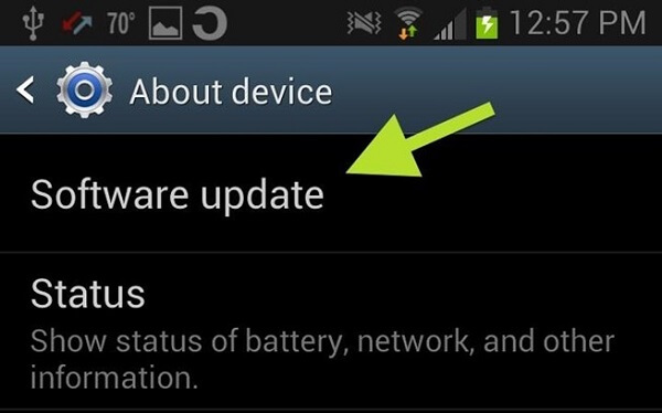 Check For Software Updates On Android