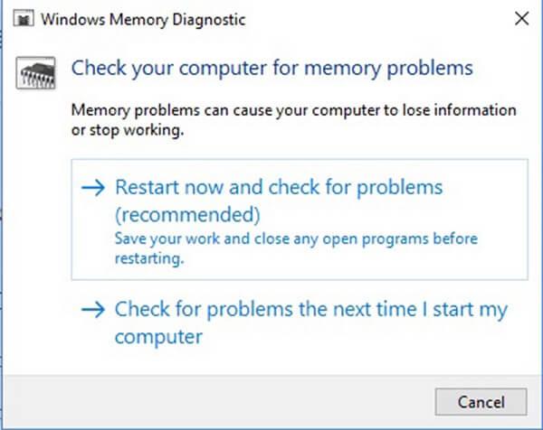 Diagnostica memoria