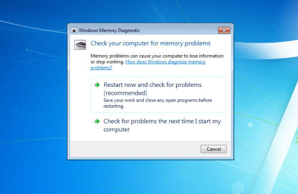 Controlla la RAM