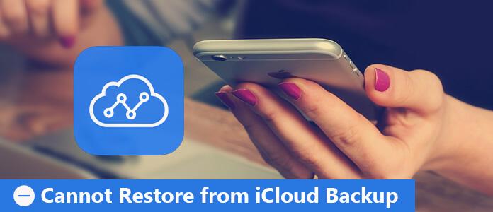 Impossibile eseguire il ripristino da iCloud Backup
