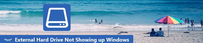 Zewnętrzny dysk twardy nie wyświetla systemu Windows