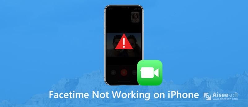 FaceTime werkt niet op iPhone