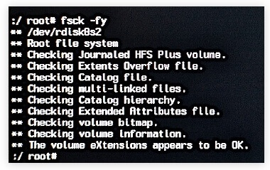 """6 Ways to Repair Mac from """"File System Check Exit Code Is 8"""