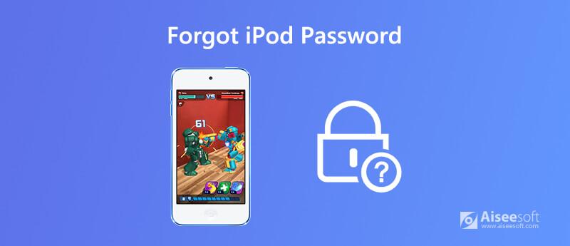 Hai dimenticato la password dell'iPod