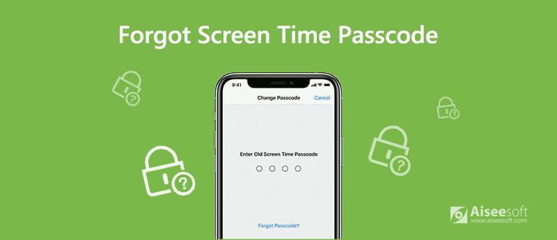 Zapomněli jste časový kód obrazovky
