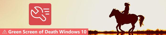 Zielony ekran śmierci w systemie Windows 10