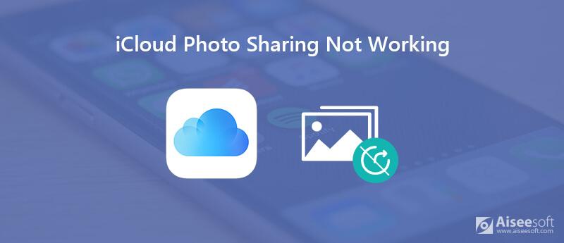 iCloud Photo Sharing non funziona