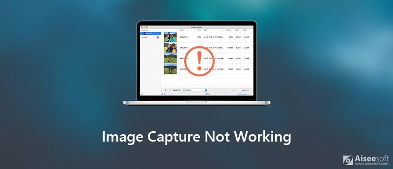 Image Capture werkt niet