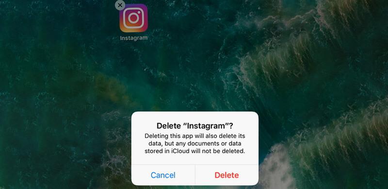 Επανεγκαταστήστε το instagram