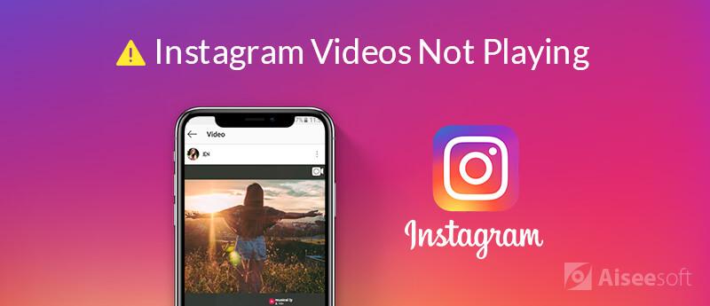 I video di Instagram non vengono riprodotti