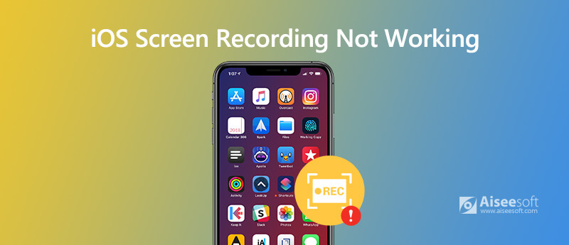 Screen Recording Not working