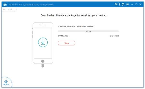Scarica il firmware iOS