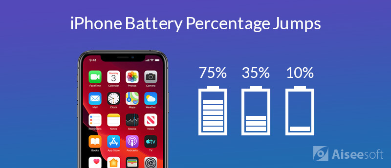 Fix iPhone Battery Percentage Jumping up/Down