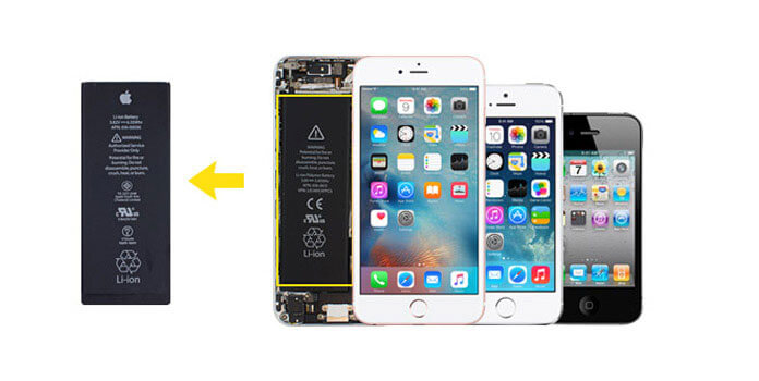 Make iPhone 4/5/6 Battery Replacement